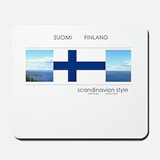 Suomi Finland souvenir Mousepad