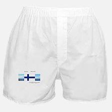 Suomi Finland souvenir Boxer Shorts