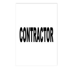 Contractor Postcards (Package of 8)