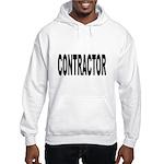 Contractor (Front) Hooded Sweatshirt