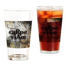 Carpe Viam Drinking Glass