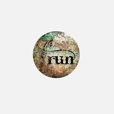 Run by Vetro Designs Mini Button
