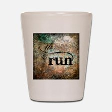 Run by Vetro Designs Shot Glass