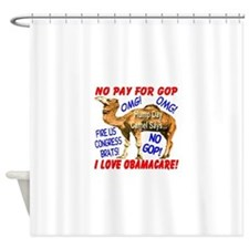 No Pay for GOP Shower Curtain