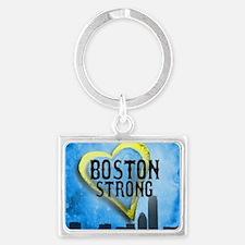 Boston Strong Landscape Keychain