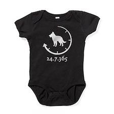 Belgian Groenendael Baby Bodysuit