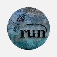 """Run by Vetro Designs 3.5"""" Button"""