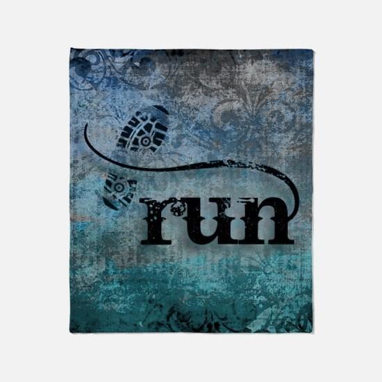 Run by Vetro Designs Throw Blanket