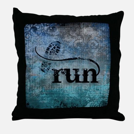 Run by Vetro Designs Throw Pillow