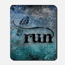 Run by Vetro Designs Mousepad