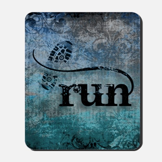 Run by Vetro Designs Mousepad