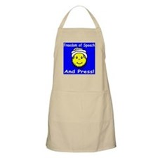 Freedom of Speech and Press BBQ Apron