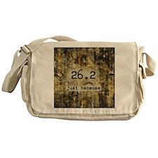 26.2 by Vetro Designs Messenger Bag