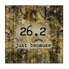 26.2 by Vetro Designs Tile Coaster