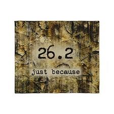 26.2 by Vetro Designs Throw Blanket