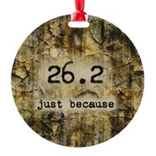 26.2 by Vetro Designs Ornament