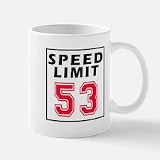 Speed Limit 53 Mug