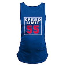 Speed Limit 55 Maternity Tank Top
