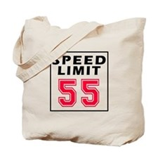 Speed Limit 55 Tote Bag
