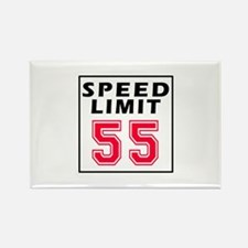 Speed Limit 55 Rectangle Magnet