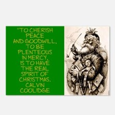 To Cherish Peace And Goodwill - Coolidge Postcards