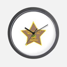 Marion Sheriff Wall Clock