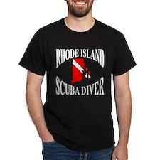 Rhode Island Scuba Diver T-Shirt