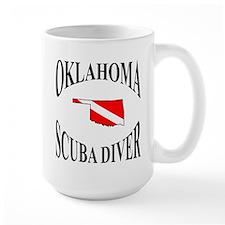 Oklahoma Scuba Diver Mugs