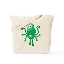 Cute Six armed ALIEN Tote Bag