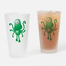 Cute Six armed ALIEN Drinking Glass