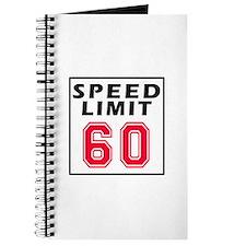 Speed Limit 60 Journal