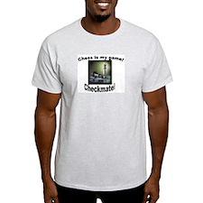 Chess Ash Grey T-Shirt