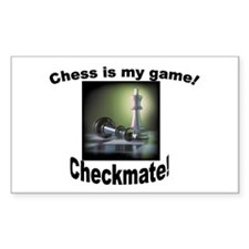 Chess Rectangle Decal