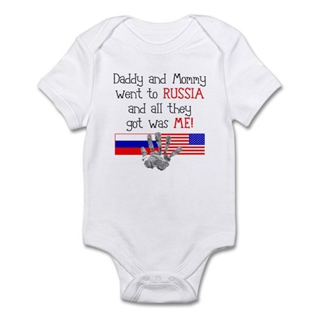 Russian Adoption (Parents) Infant Bodysuit