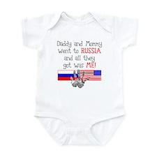 Russian Adoption (Parents) Infant Bodysuit