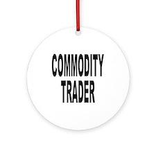 Stock Trader Ornament (Round)