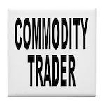 Stock Trader Tile Coaster