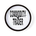 Stock Trader Wall Clock