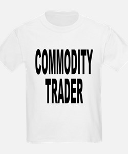 Stock Trader (Front) Kids T-Shirt