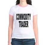 Stock Trader (Front) Jr. Ringer T-Shirt