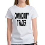 Stock Trader (Front) Women's T-Shirt