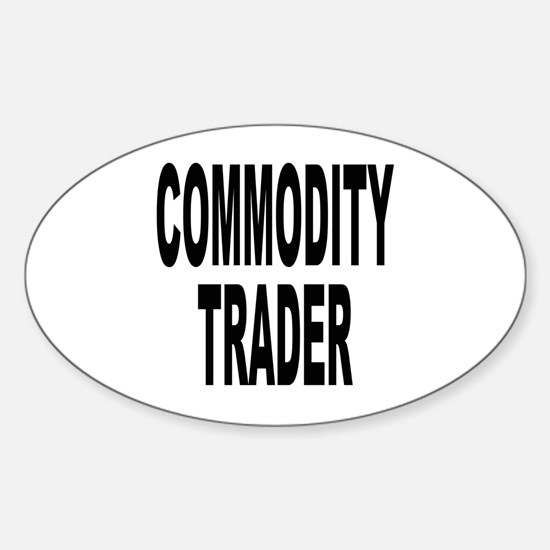 Stock Trader Oval Decal