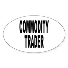 Stock Trader Oval Stickers