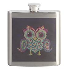 Midnight Owl Flask