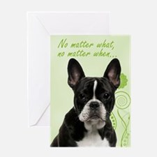 Frenchie Love Support Card