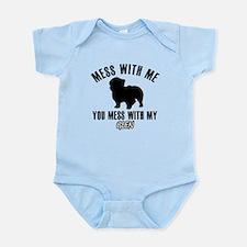 Don't mess with my Glenn Infant Bodysuit