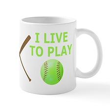 Softball Player Mugs