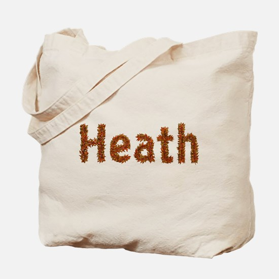 Heath Fall Leaves Tote Bag