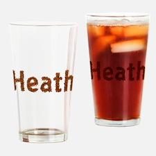 Heath Fall Leaves Drinking Glass