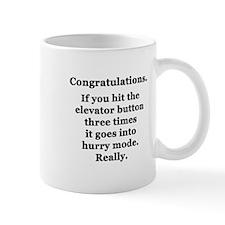 Congratulations. Mug